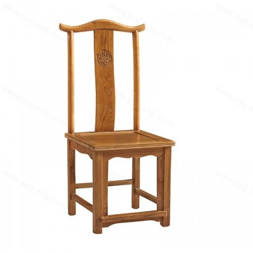 酒店餐桌椅餐厅宴会实木官帽椅C-118