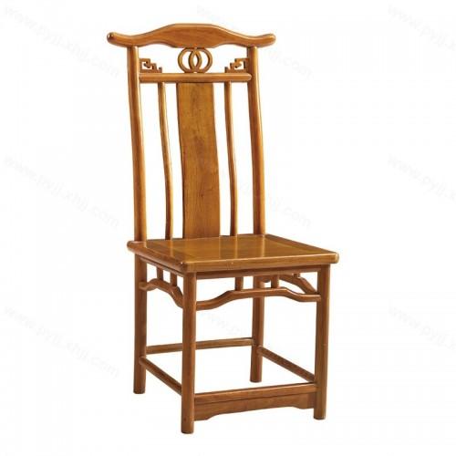 新中式餐椅实木小官帽椅C-115