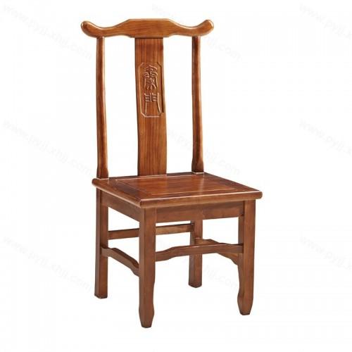 中式官帽椅实木靠背椅酒店餐椅C-113