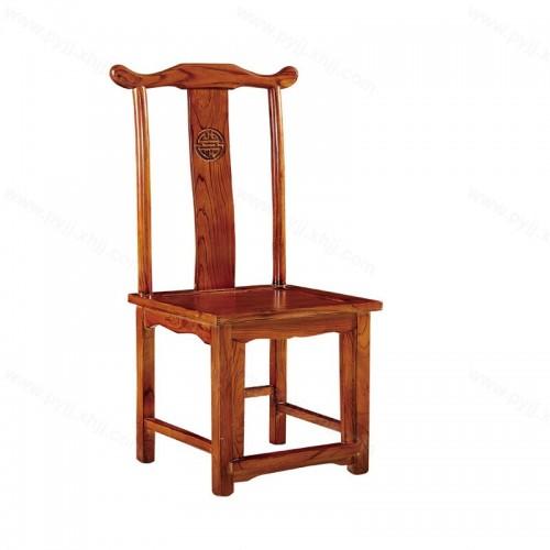 实木餐椅明清仿古酒店饭店靠背椅C-111