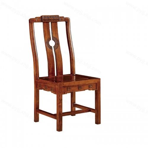 实木仿古明清现代餐椅C-105