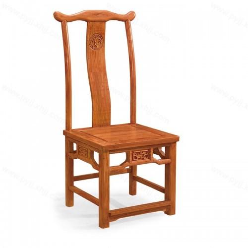 实木明清古典中式餐椅C-095