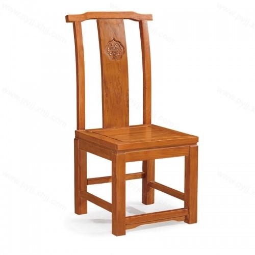 实木明清古典中式餐椅C-094