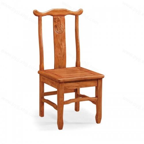 实木官帽椅明清古典中式靠背餐椅C-093