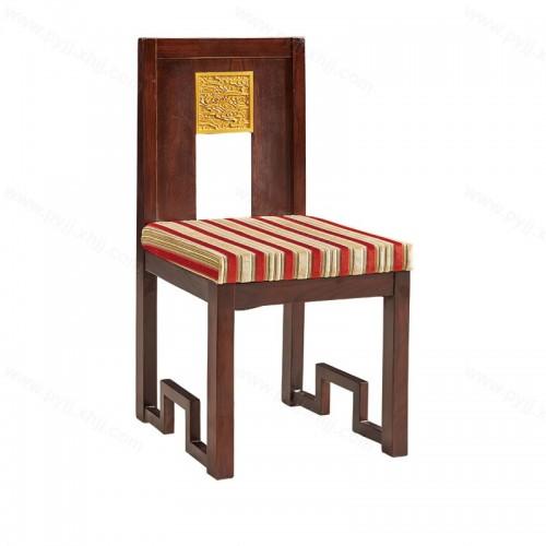 明清古典实木靠背餐椅C-091