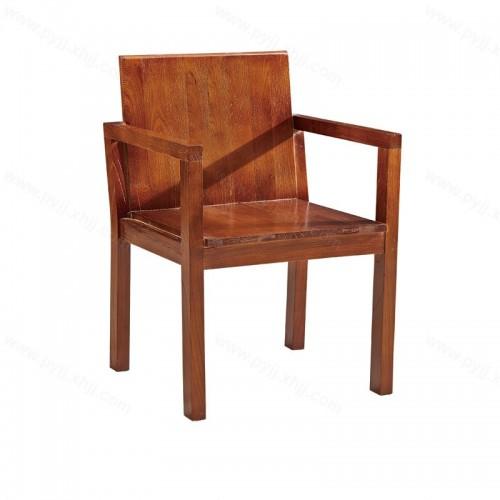 实木中式靠背餐椅C-090