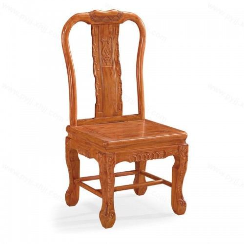 仿古实木中式靠背餐椅C-089