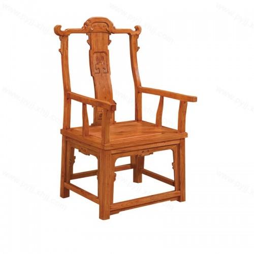 仿古中式靠背餐椅古典扶手椅C-088