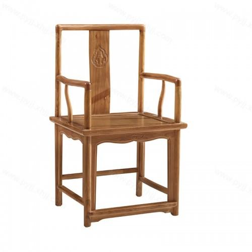 仿古中式靠背餐椅古典扶手椅C-087