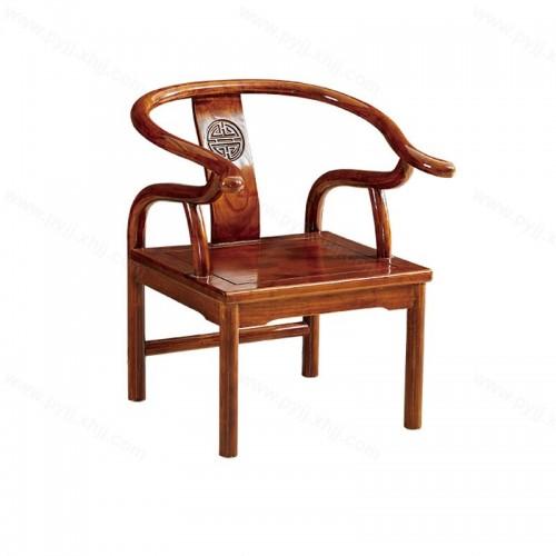 中式实木餐椅仿古太师椅高圈椅C-086