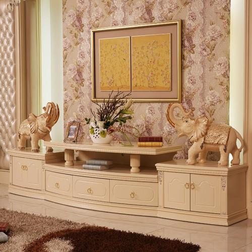 客厅欧式电视柜 实木
