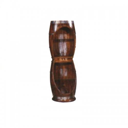 实木装饰啤酒红酒桶双酒桶IY-10