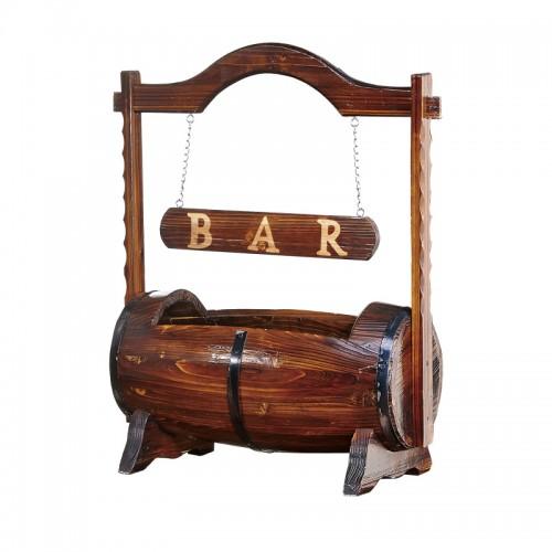 欧式酒桶存放红酒酒瓶IY-9个性装饰品手提酒桶