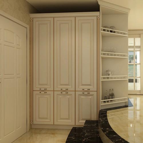 白色门厅柜定制家具DLN-1388