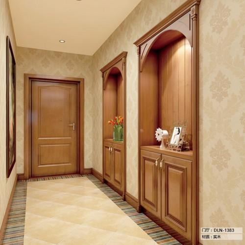 实木门厅柜定制家具DLN-1383