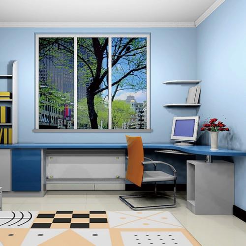 烤漆电脑桌定制家具DLN-1285