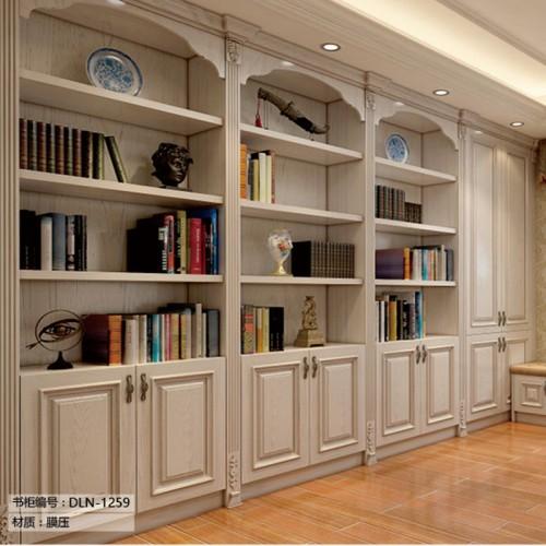 欧式书柜定制家具DLN-1259