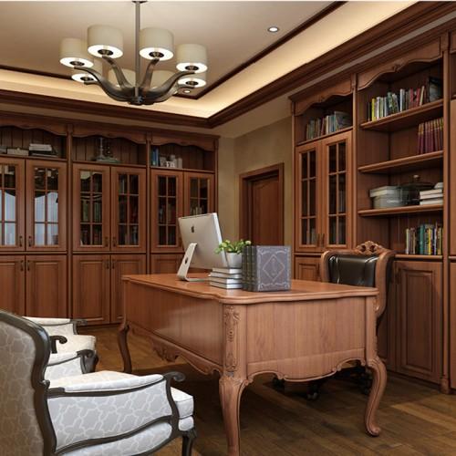 美式书柜定制家具DLN-1258