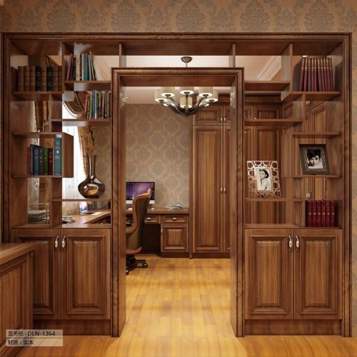 实木定制家具玄关柜DLN-1364