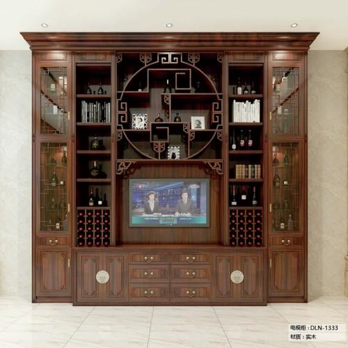 实木电视柜定制家具DLN-1333