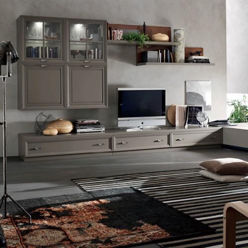 电视柜定制家具膜压DLN-1324