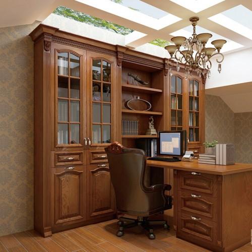 实木书柜定制家具DLN-1243