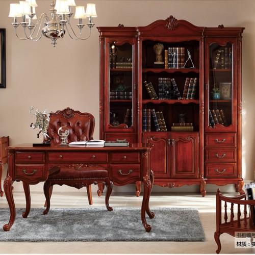 书柜定制家具实木LN-1252
