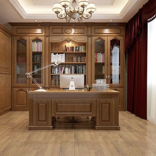 实木书柜定制家具LN-1249