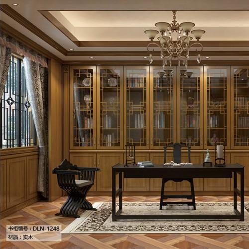 定制家具实木书柜LN-1248