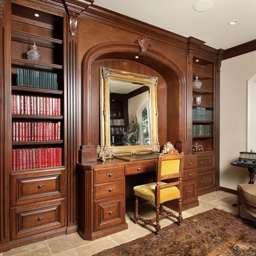 实木定制家具书柜LN-1247