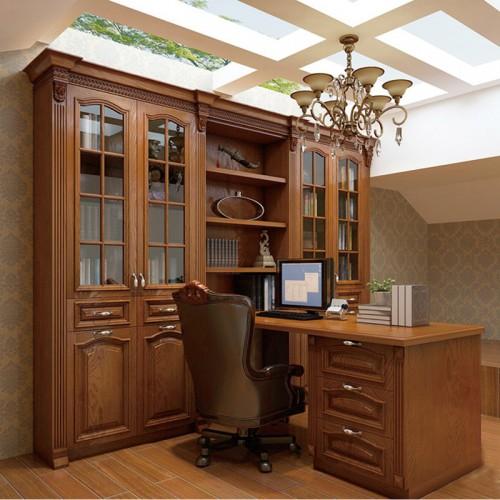实木书柜定制家具LN-1243