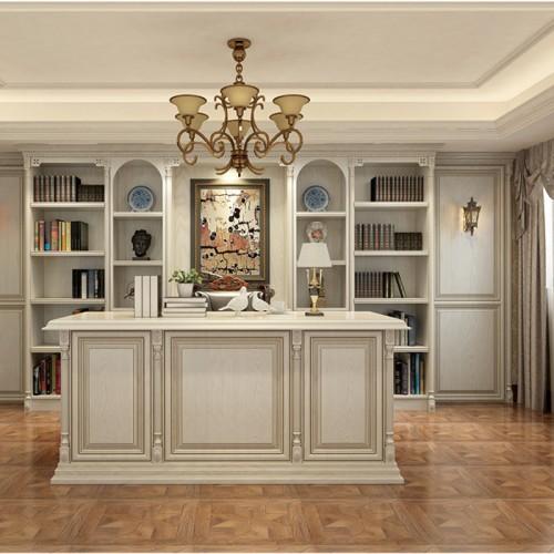 书柜定制家具实木LN-1240