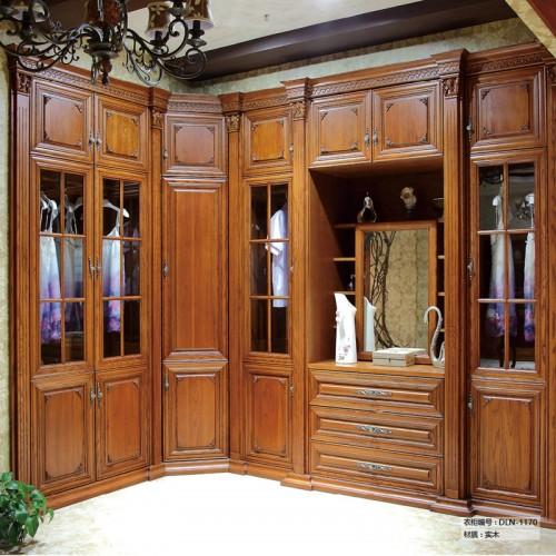实木衣柜定制家具DLN-1170