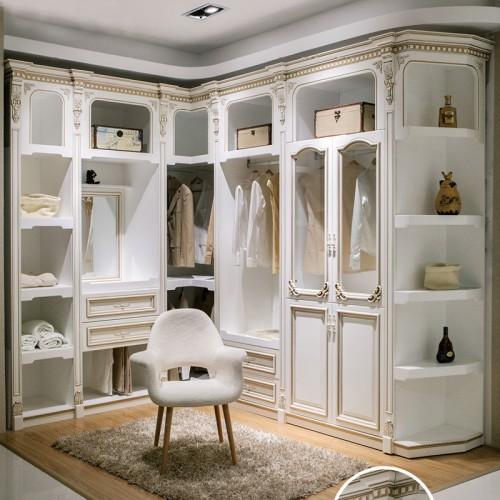 定制家具实木衣柜衣橱DLN-1135