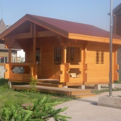 木屋户外家具凉亭定制厂家直销防腐木碳化木松木