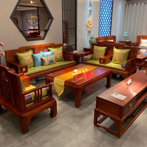 新古典沙发组合家具