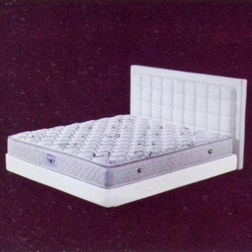 酒店床快捷宾馆标间双人床软包床      宾馆-6