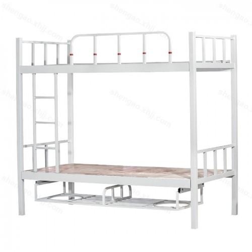 学生寝室双人高低床公司员工宿舍上下铺铁床03