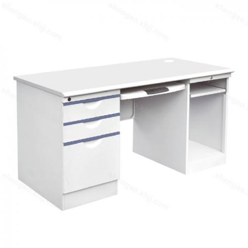 钢制带抽屉职员办公桌电脑桌02