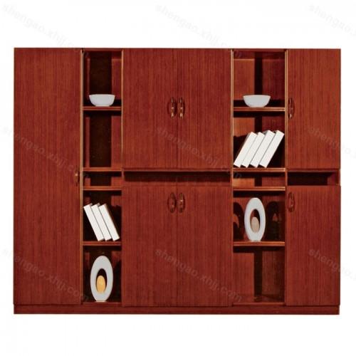 创意时尚实木油漆文件柜资料柜书柜01