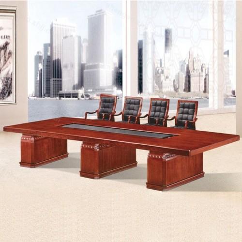 现代简约实木油漆会议桌培训桌01
