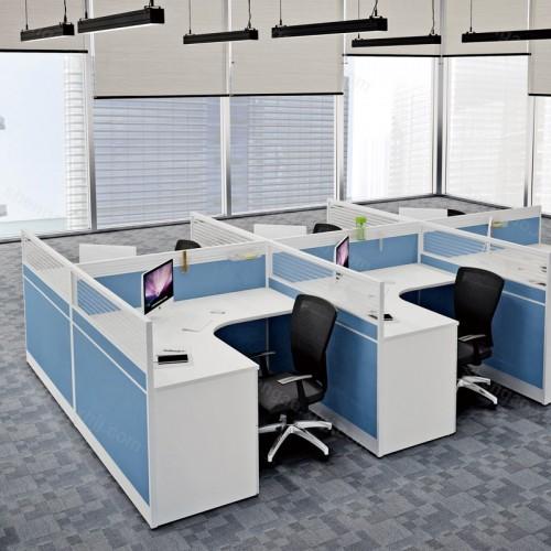 办公家具多人屏风隔断职员办公桌01