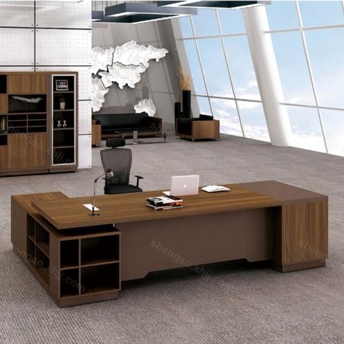 简约板式办公桌时尚老板办公桌经理桌01