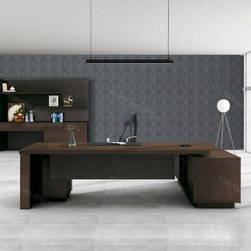 板式办公桌老板桌简约现代主管桌02