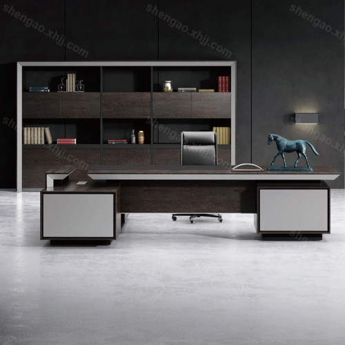 板式现代老板桌经理桌简约主管桌03