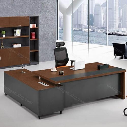 现代简约油漆老板桌班台总裁桌01