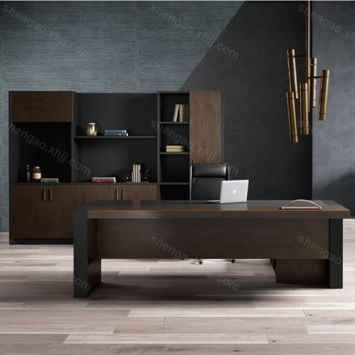 现代简约办公桌大班台老板桌总裁经理桌01