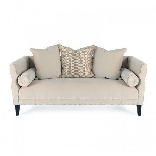 小户型客厅创意时尚布艺二人位沙发 17