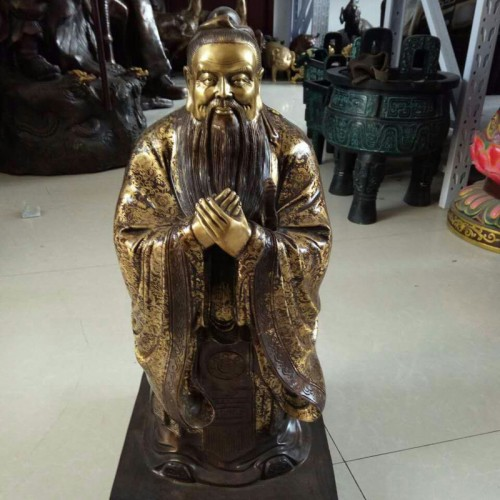 铜雕历史人物文人雅士