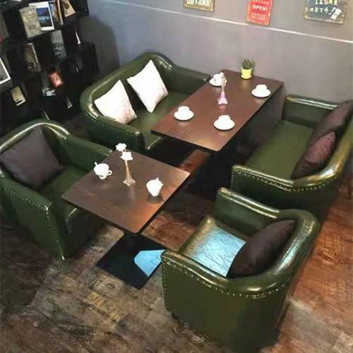 咖啡厅沙发桌椅09